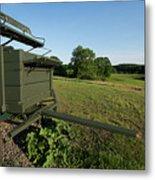 Wagon At Wagon Hill Farm In Durham New Hampshire Metal Print