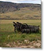 Wagon Ho Metal Print