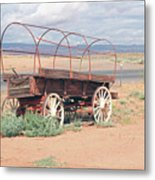 Wagon Of The West Metal Print