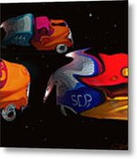 Wagon Train To The Stars 2 Metal Print