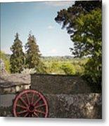 Wagon Wheel County Clare Ireland Metal Print