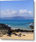 Wai Beach Metal Print