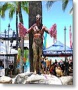 Waikiki Statue - Duke Kahanamoku Metal Print