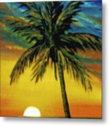 Waikiki Sunset #38 Metal Print
