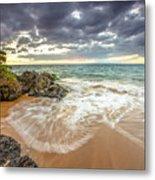 Wailea Sunset From Maui Metal Print