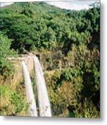 Wailua Falls Metal Print