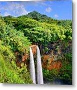 Wailua Falls Kauai Metal Print