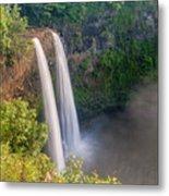 Wailua Falls - Kauai Hawaii Metal Print