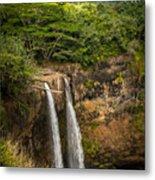 Wailua Falls Kauai I Metal Print