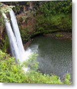 Wailua Falls, Kauai Metal Print