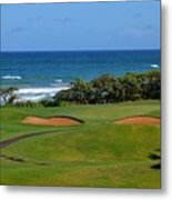 Wailua Golf Course - Hole 17 - 1 Metal Print