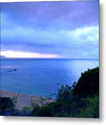Waimea Bay Evening Metal Print