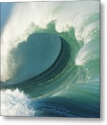 Waimea Bay Shorebreak Metal Print