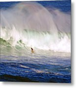 Waimea Bay Wave Metal Print