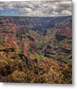Waimea Canyon 7 - Kauai Hawaii Metal Print