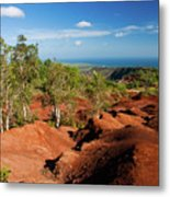 Waimea Canyon Metal Print