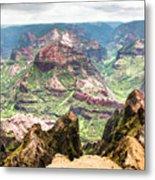 Waimea  Canyon Splendor,  Metal Print