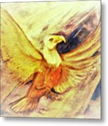 Wait Upon The Lord Metal Print