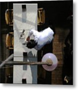 Waiter From Above Metal Print