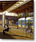 Waitin' For The Train Metal Print