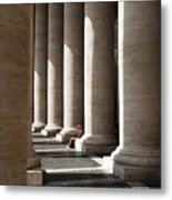 Waiting At St Peter's Metal Print