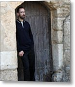 Waiting At The Door Metal Print