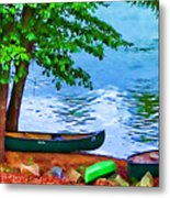 Waiting By The River Metal Print