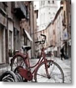 Waiting For A Ride Metal Print by Andre Goncalves