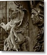 Waiting For Alexander - Heroes And Gods - Brown  Metal Print