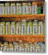 Waiting For Canning Time Metal Print