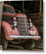 Waiting For Harvest Time Metal Print