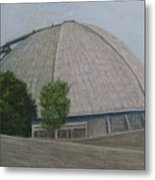 Waiting For The Next Event Mellon Arena Pittsburgh Metal Print