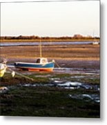 Waiting For The Tide Metal Print by Trevor Wintle