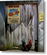 Waiting For Watson 2 Metal Print