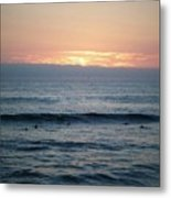 Waiting On A Wave  Metal Print