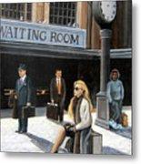 Waiting Room Metal Print