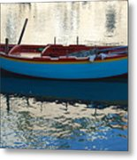 Waiting To Go Fishing Metal Print