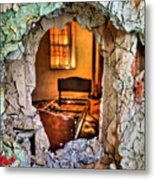 Wake Up And Smell The Misery Metal Print