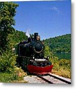 Wakefield Steam Train Metal Print