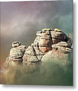 Waking Up In A Cloud Metal Print