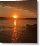 Waking Up The River Metal Print