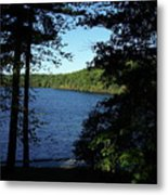 Walden Pond End Of Summer Metal Print by Lawrence Christopher