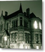 Waldorf College, The Centre For Science And Arts By Night Stround Gloucestershire Metal Print