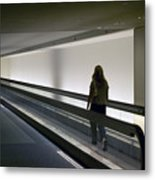 Walk-a-matic At Orlando Airport Metal Print