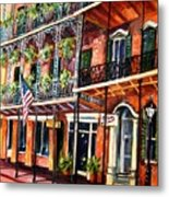 Walk In The French Quarter Metal Print