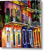 Walk Into The French Quarter Metal Print
