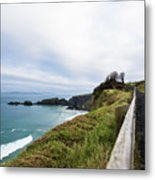 Walk To The End Of The Earth  Metal Print