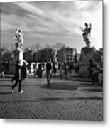 Walking Around Rome Metal Print