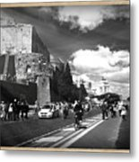 Walking Around The City Of Rome 2 Metal Print