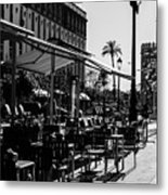 Walking In Seville - Spain Metal Print